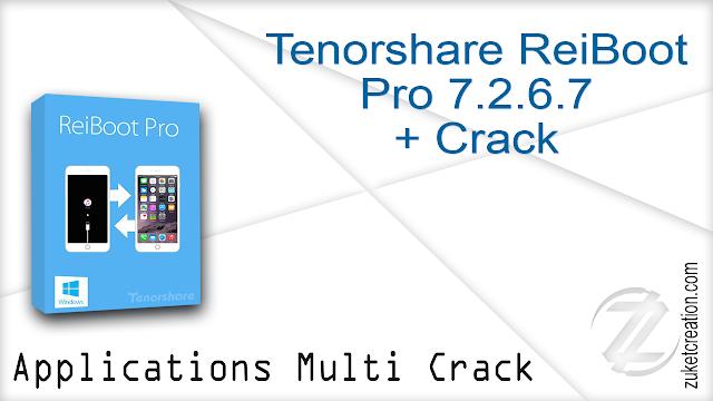 Tenorshare ReiBoot Pro 7.2.6.7 + Crack