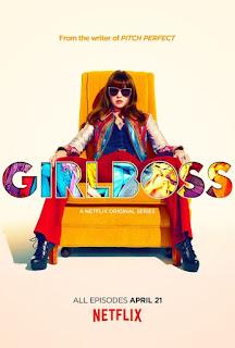 Girlboss-Netflix-Eigenproduktion-Offizielles Poster - Binge Watching - Brit robertson - Sophia Amoruos - Rezension