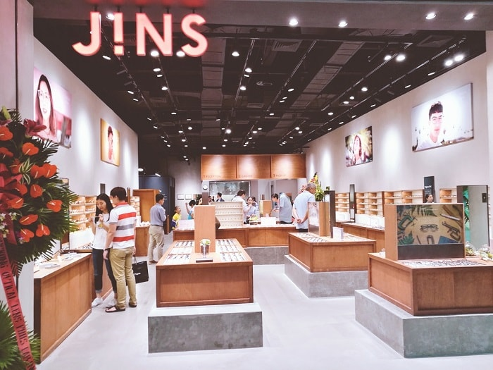 JINS Philippines at SM Aura Premier