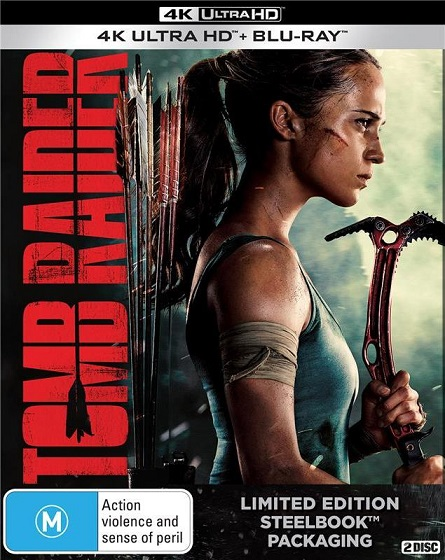 Tomb Raider 4K (2018) 2160p 4K UltraHD HDR BluRay REMUX 50GB mkv Dual Audio Dolby TrueHD ATMOS 7.1 ch