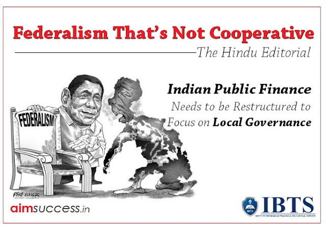 Federalism that's not cooperative: The Hindu Editorial