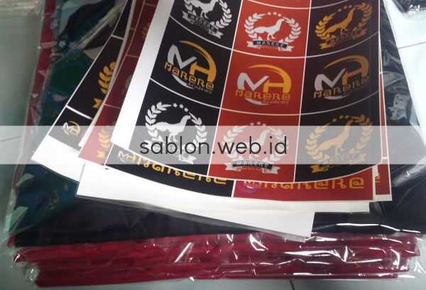 Sablon Kaos Gratis Stiker - Sablon Kaos Free Stiker