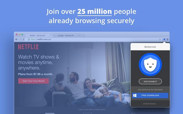 تحميل اضافة بيتر نت جوجل كروم 2019 مجانا Betternet