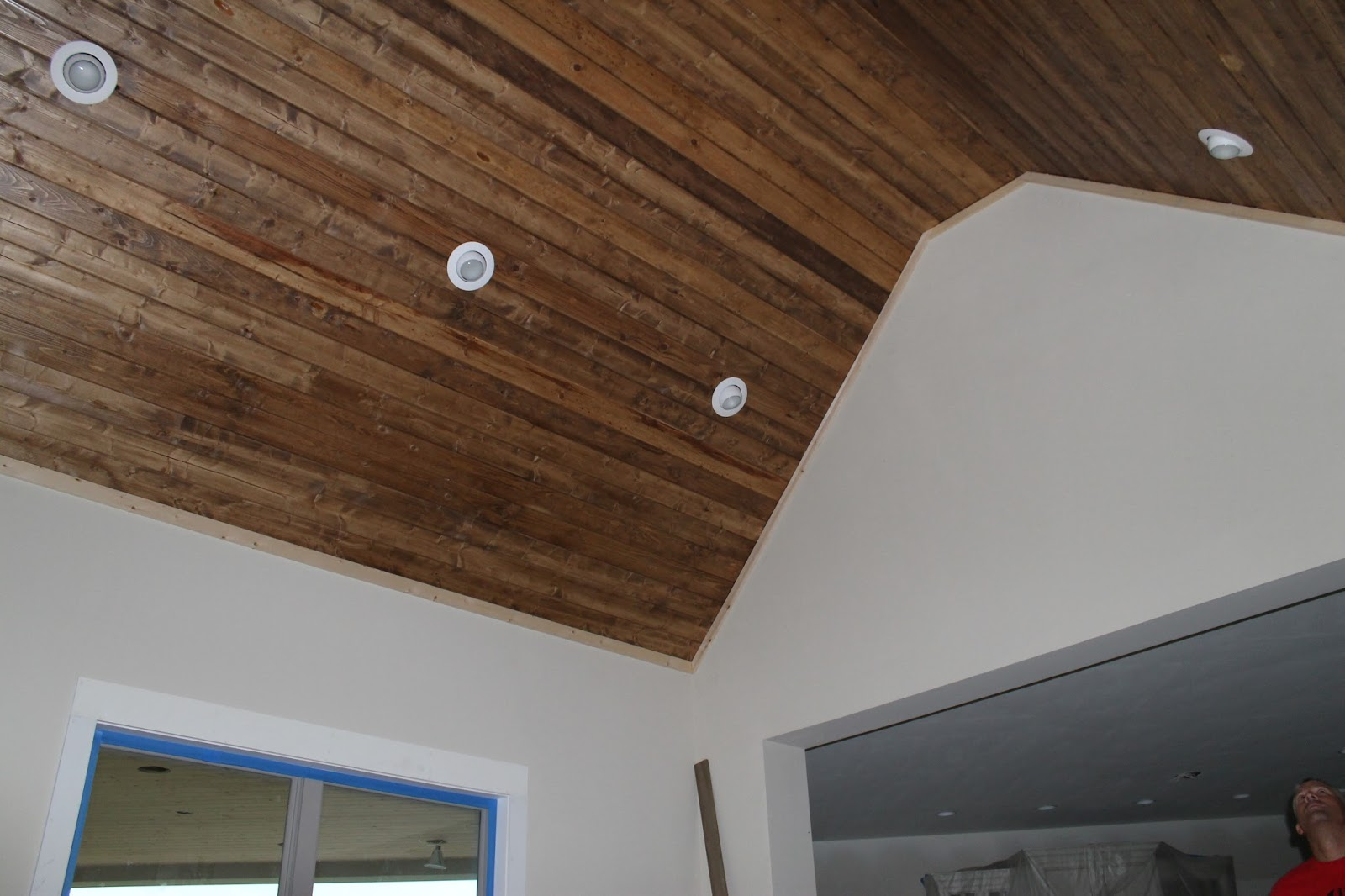 Can Lights In Wood Ceiling