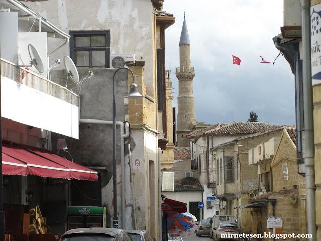 Турецкая Никосия - улицы и мечети