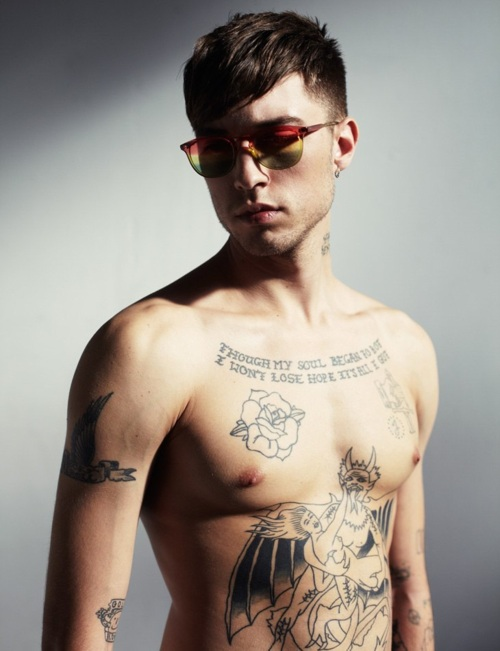 Modeling 101 - A Model's Diary: Male Models & Tattoos