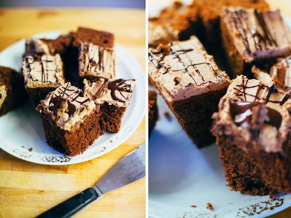 Moist chocolate cake!