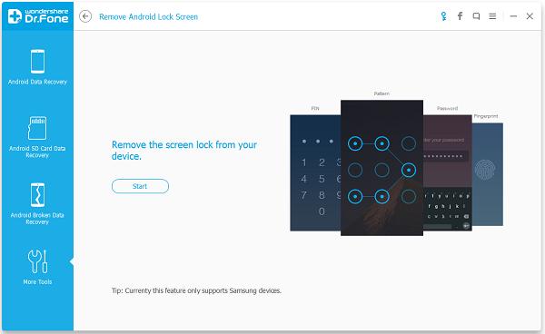 Download Android Data Recovery Unlocker Free untuk membuka Lock Screen all ponsel