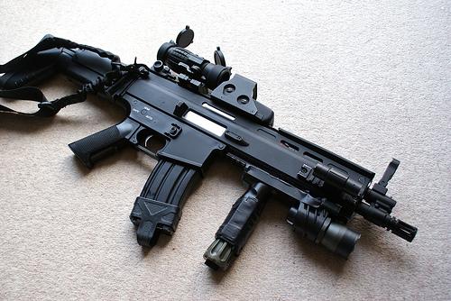 Fn Scar S 243 Armas De Fogo