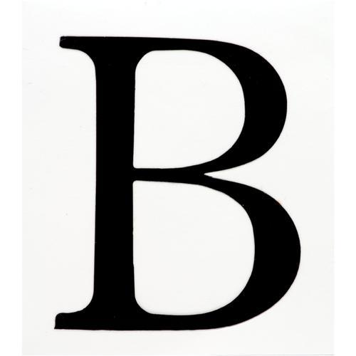 B  Letter B - Text...
