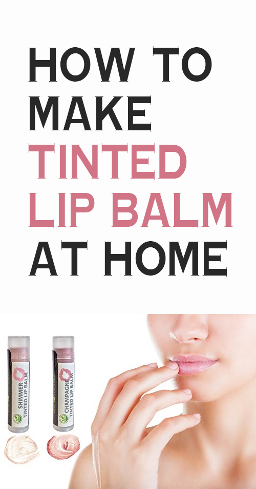 how to make tinted lip balm at home