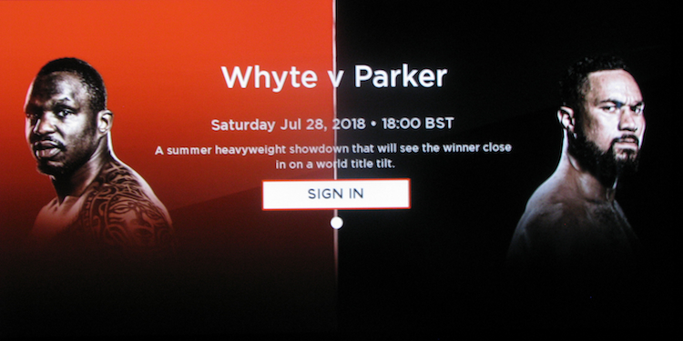 UK Roku Channels: How To WATCH WHYTE vs  PARKER PPV BOXING LIVE On
