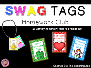 https://www.teacherspayteachers.com/Product/SWAG-Brag-Tags-for-Homework-2680238