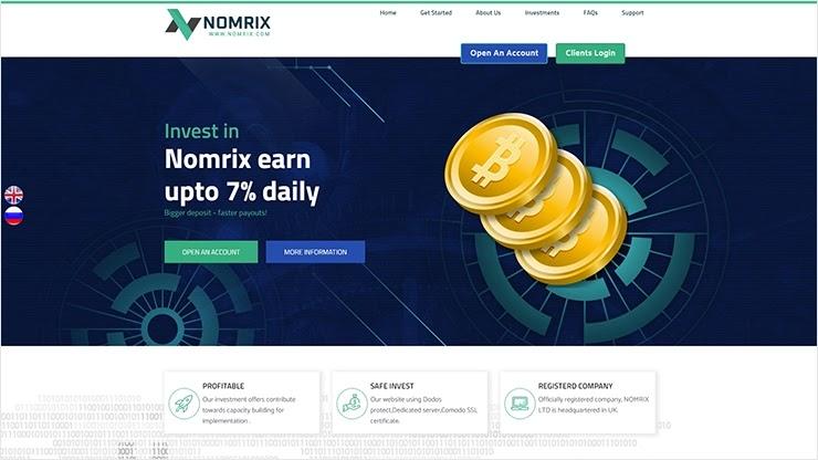 Обновления у Nomrix