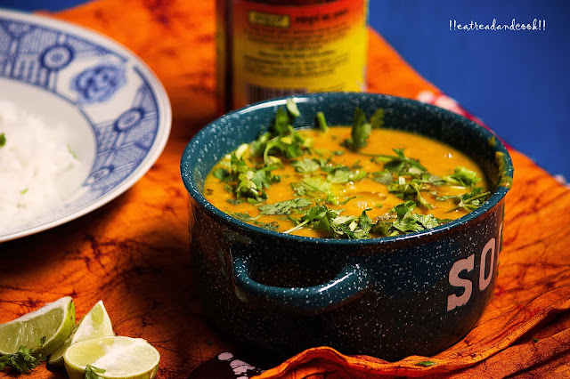 how to make Bengali arhar Dal / Bengali Style Toor Dal recipe and preparation with step by step pictures