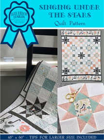 Singing Under the Stars Quilt Pattern<br>(BRDQ-001)