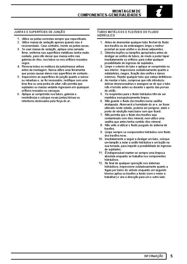 MANUAIS DO PROPRIETÁRIO: MANUAL DE OFICINA LAND ROVER