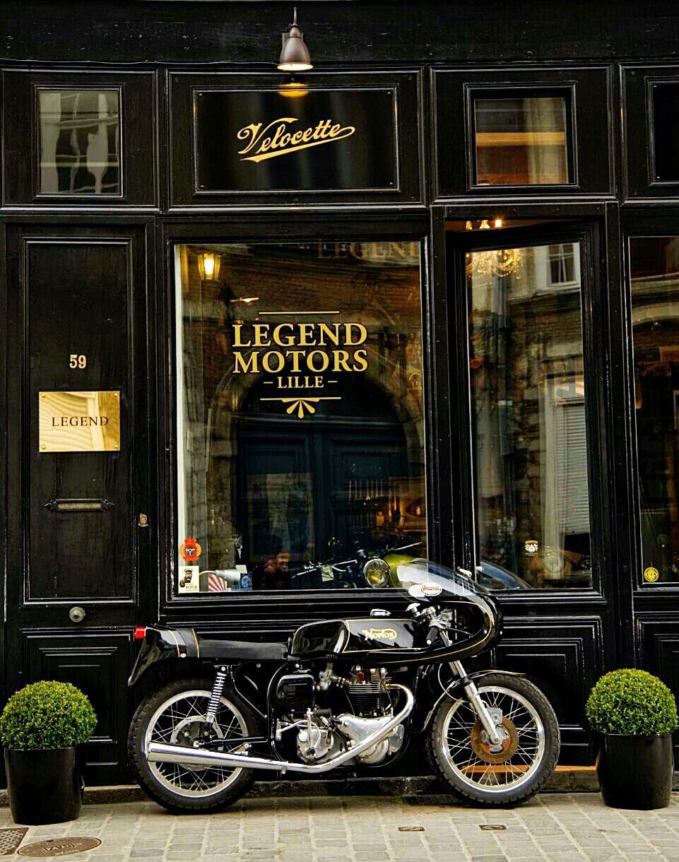 Legend motors lille rocketgarage cafe racer magazine for Garage jaguar lille