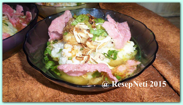 Simple chicken porridge recipe at kusNeti kitchen 2015