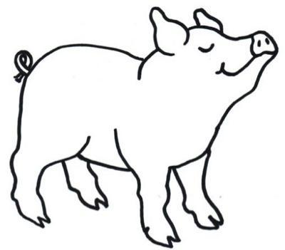 Los Animales de mi Granja: Animales de Granja para Colorear