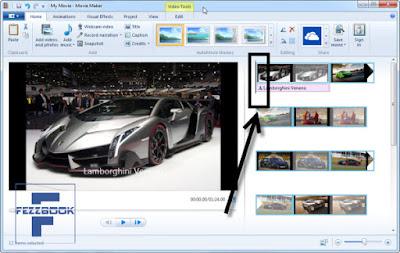 cara membuat video dari foto dengan  movie  maker