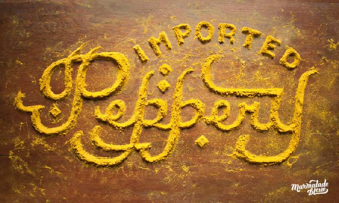 tipografia organica com alimentos 07 - Tipografia Orgânica com Alimentos