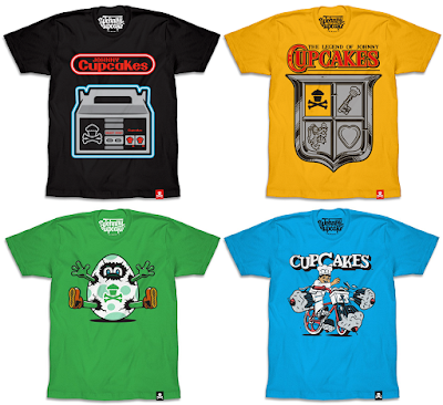 Nintendo T-Shirt Collection by Johnny Cupcakes