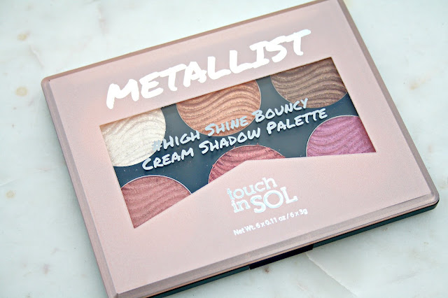 touch in SOL Metallist High Shine Bouncy Cream Shadow Palette