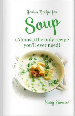 ultimate soup cookbook, basic soup recipe with variations, soup hint, tips and guidelines, genius soup recipe