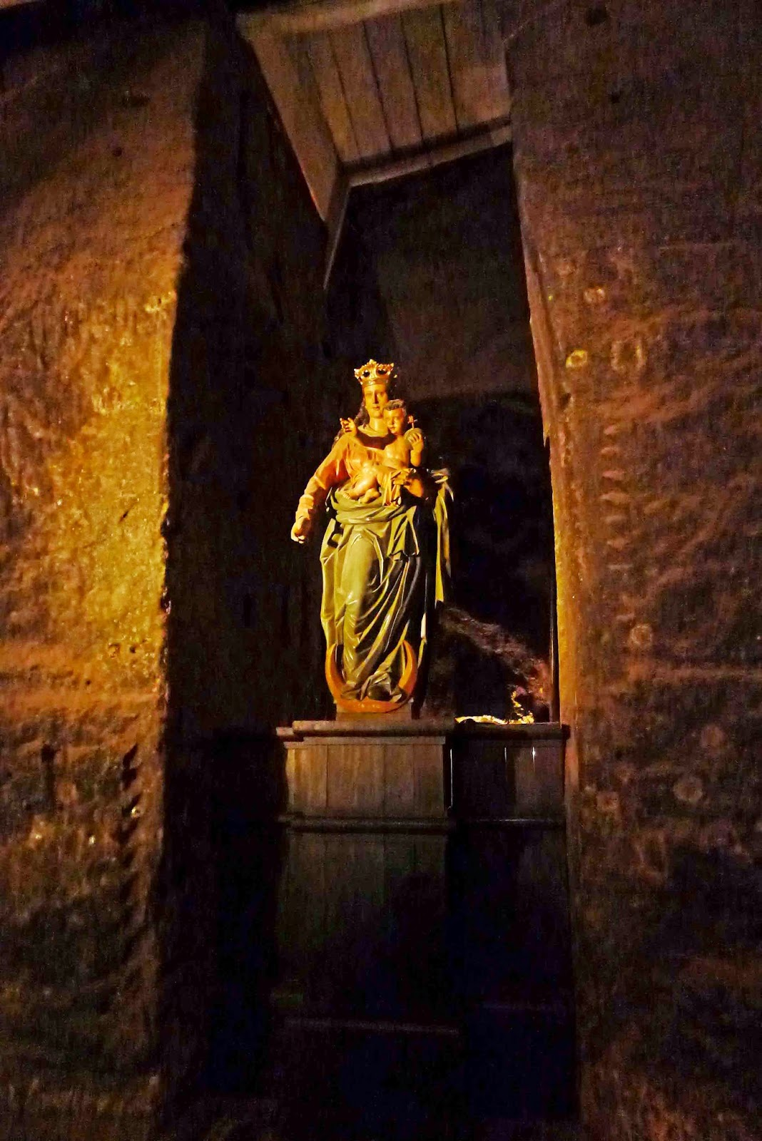 Wieliczka Salt Mine Virgin Mary