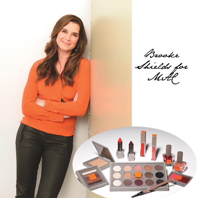 Brooke Shields MAC cosmetics