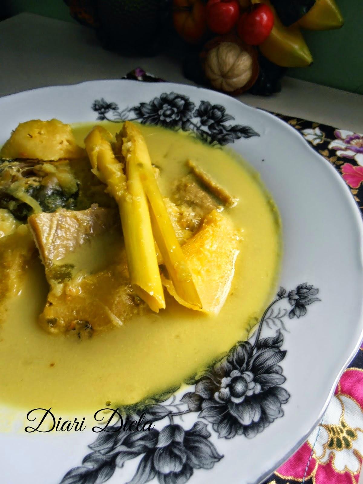 resepi gulai ikan talang  nanas resep book Resepi Gulai Ikan Masin Azie Kitchen Enak dan Mudah