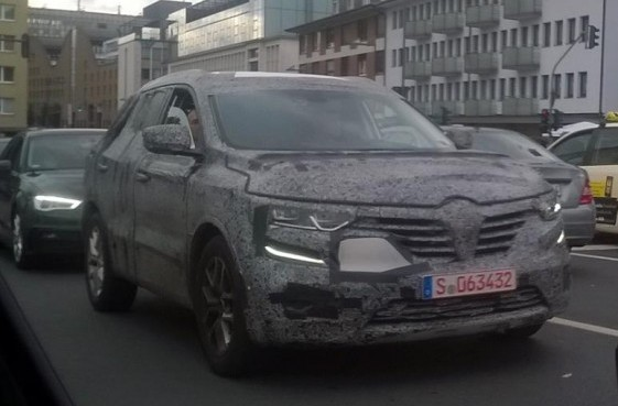 Spy Photos The New Renault Koleos 2016 2017 Streets Of Frankfurt