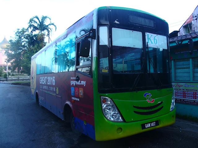 borneo transporte