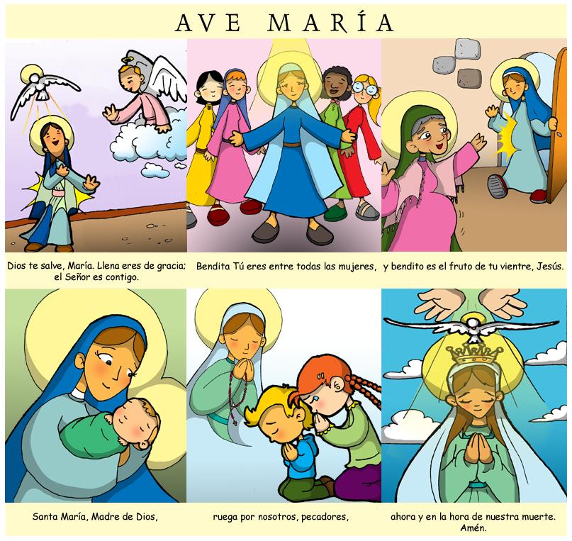 Matrimonio Catolico En Peligro De Muerte : Dibujos para catequesis ave marÍa