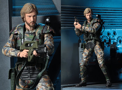 "Aliens USCM Colonel James Cameron 7"" Action Figure by NECA"