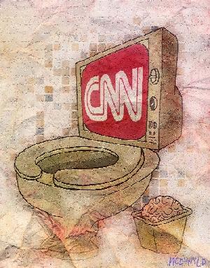 Resultado de imagen para CNN ES BASURA