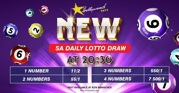 Hollywoodbets Sports Blog: SA Daily Lotto - 5/36 - Lucky Numbers