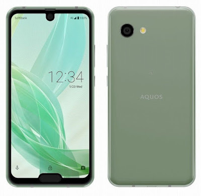 AQUOS R2 compact with Dual Notch, Snapdragon 845 goes Official