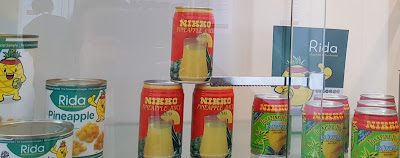 Rida Fruits offers canned pineapple as well as other pineapple products.