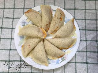 Empanadillas estilo venezolano.