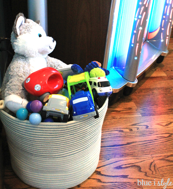 {organizing With Style} Toy Storage Baskets With Grown Up