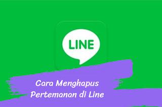 Cara Menghapus Pertemanan di Line