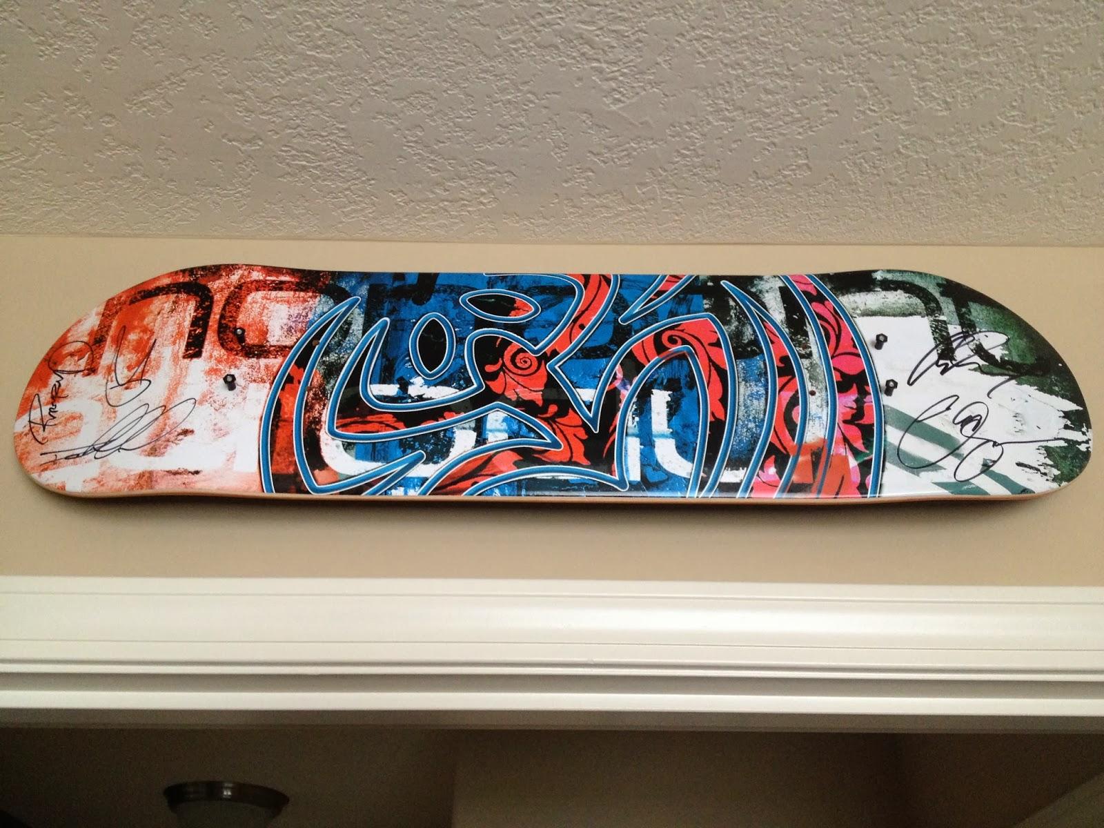 Skateboard Wall Mount | Skateboard Deck Art & StoreYourBoard Blog: Skateboard Wall Mount | Skateboard Deck Art