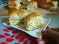 Roti Kasur isi Keju Empuk Tanpa Telur Tanpa Mixer