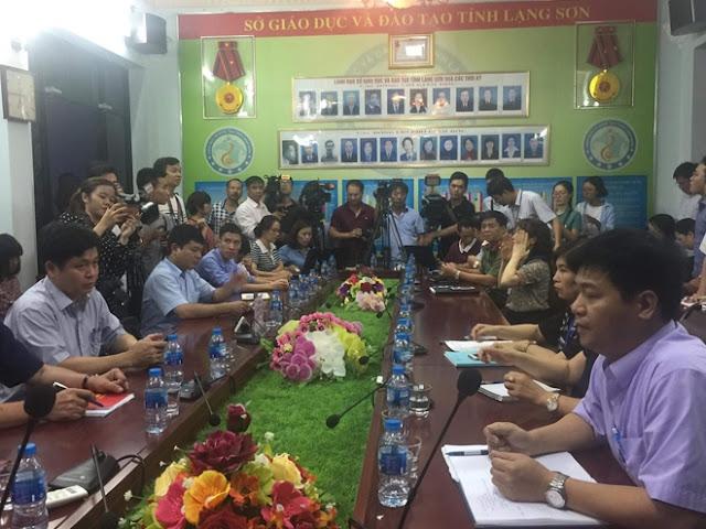 Công bố kết quả rà soát nghi vấn gian lận điểm tại Lạng Sơn