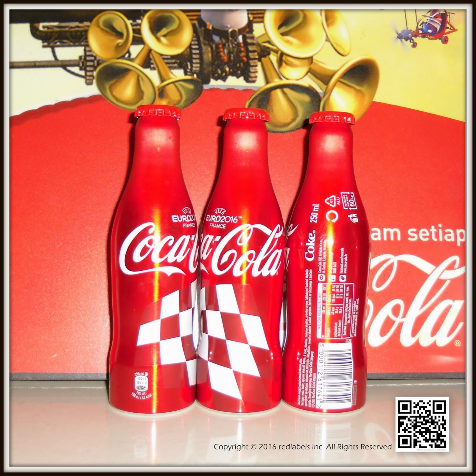 aluminum bottle collector club coca cola uefa eurocup aluminum bottle croatia 2016. Black Bedroom Furniture Sets. Home Design Ideas