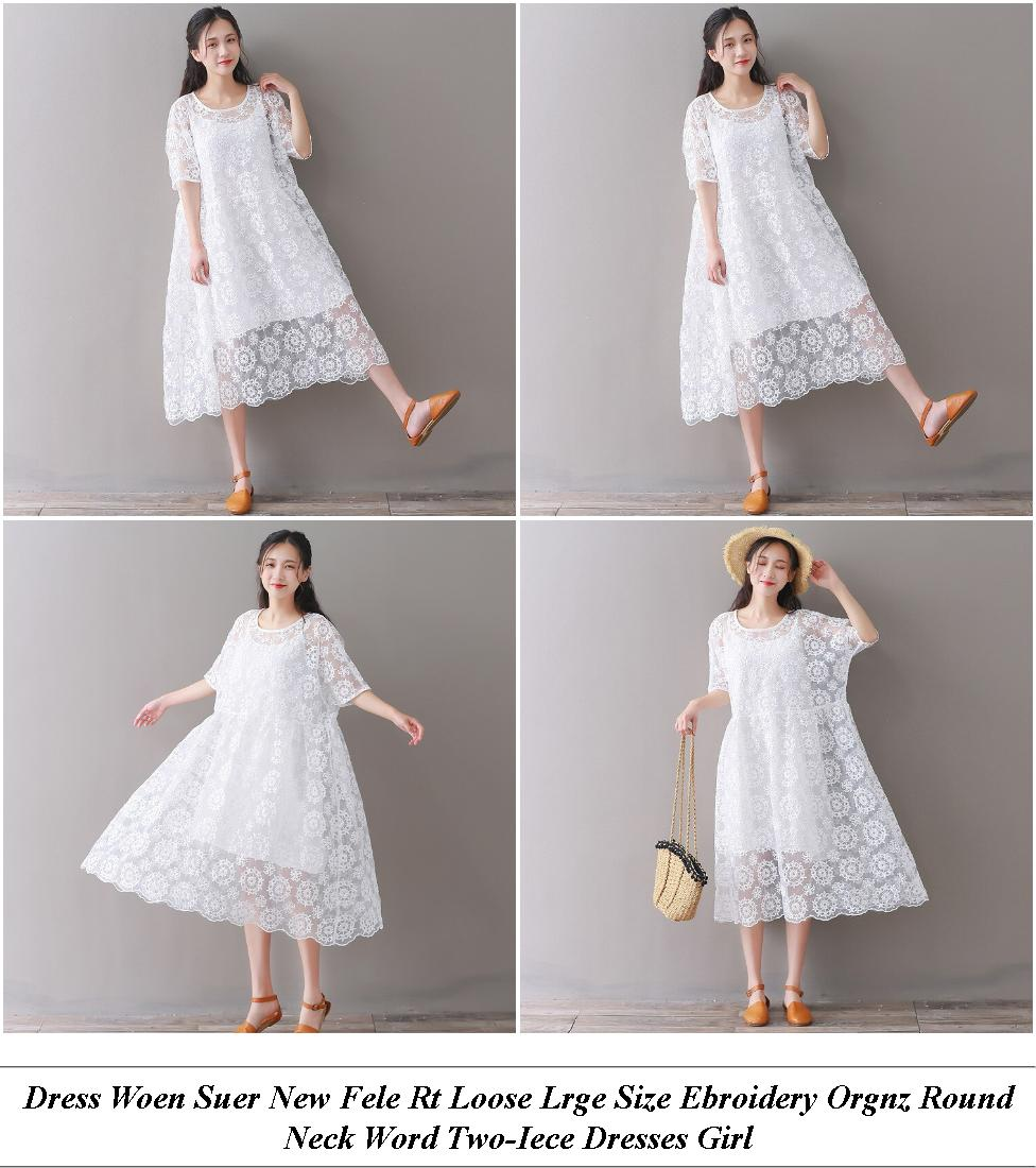 Girls Dresses - End Of Summer Sale - Off The Shoulder Dress - Cheap Clothes Shops