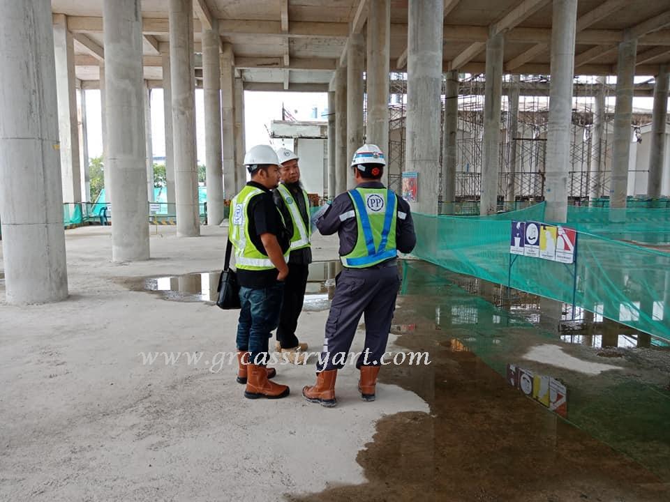 prepare gambar interior eksterior grc masjid agung medan