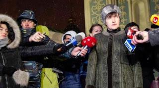 Депутат Надія Савченко